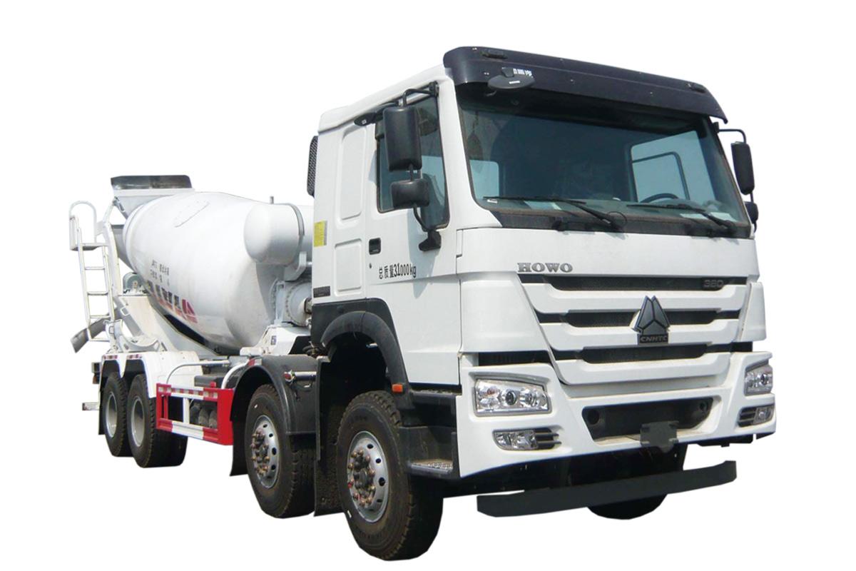 亚特重工TZ5317GJBZN8E1豪泺  8*4混凝土搅拌运输车高清图 - 外观