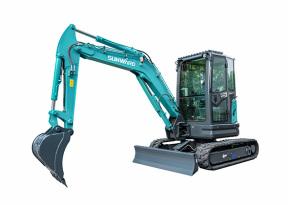 山河智能SWE35UF微型挖掘机