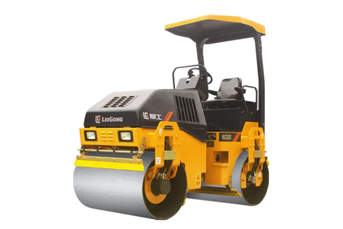 柳工CLG6032E 组合产品轻型压路机高清图 - 外观