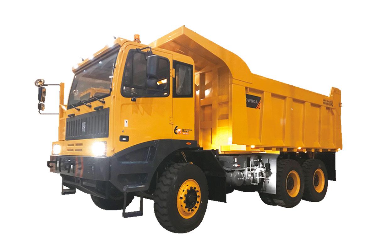 柳工DW90A-EV礦用卡車高清圖 - 外觀