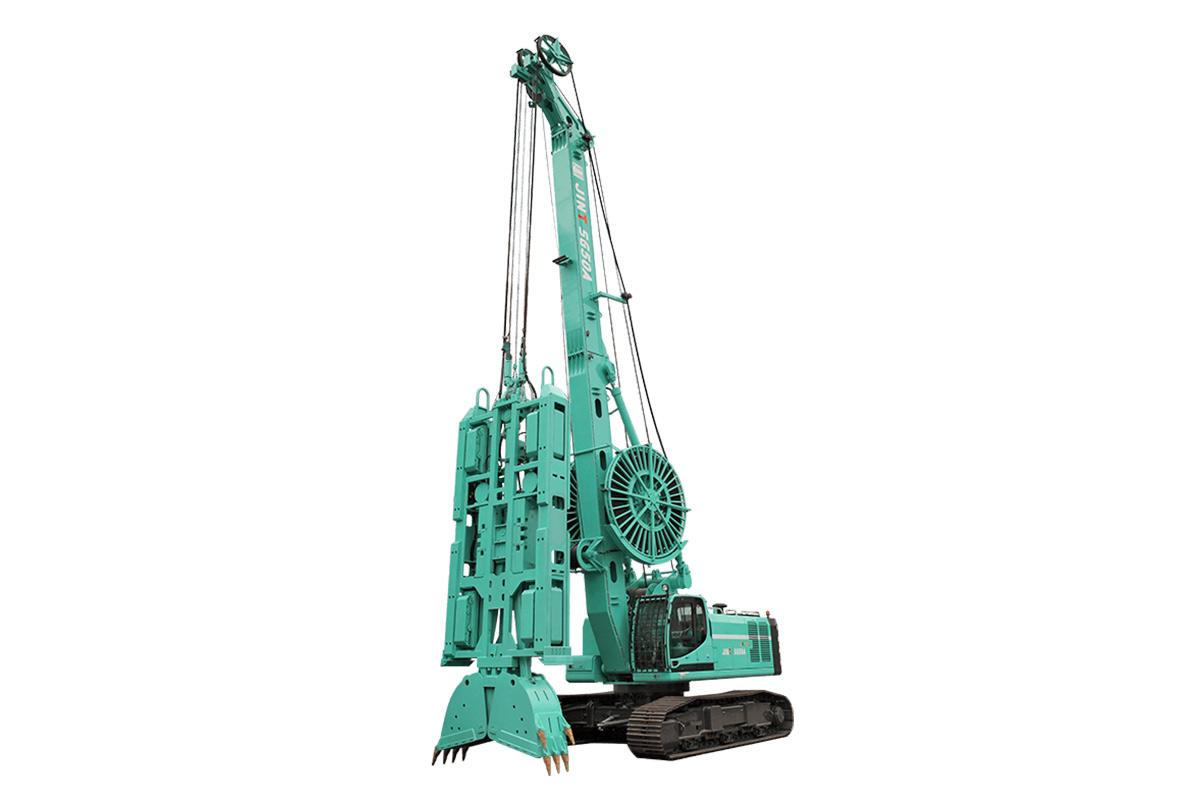 柳工SG59液壓連續墻抓斗高清圖 - 外觀