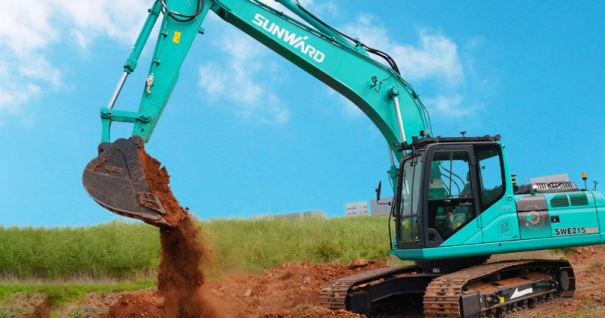 山河智能SWE215ERC(5G遥控挖掘机)中型挖掘机