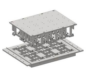 泉工水利砖护坡砖机模具