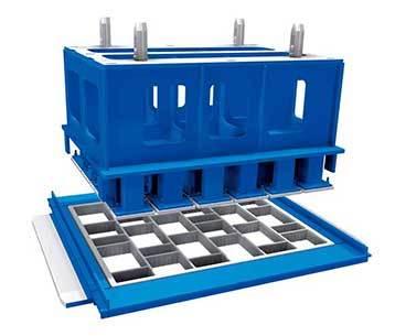 泉工透水砖机模具