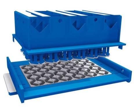 泉工植草砖机模具
