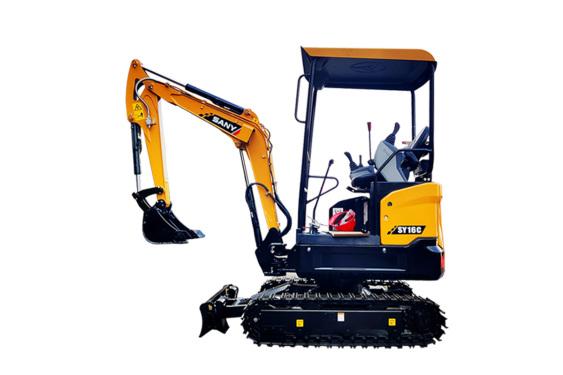 三一重工SY16C微型挖掘机