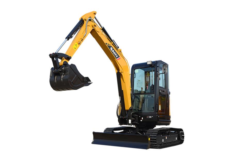 三一重工SY35U微型挖掘机
