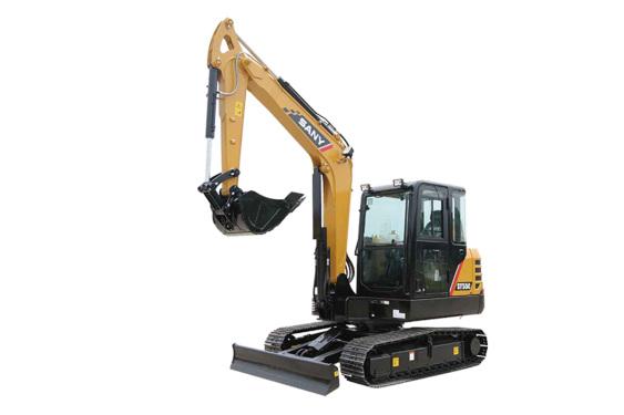 三一重工SY55C小型挖掘机