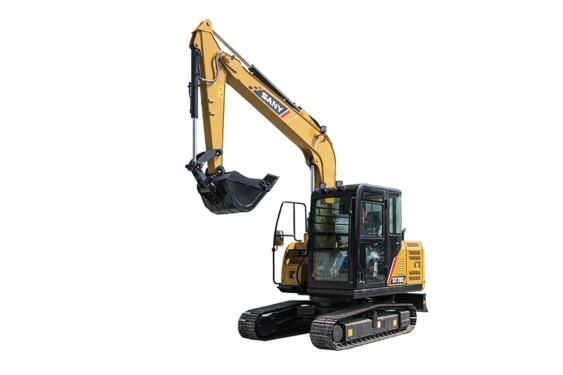 三一重工SY70C小型挖掘机