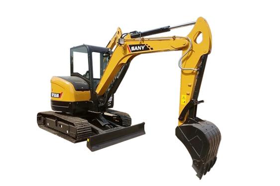 三一重工SY55U小型挖掘机