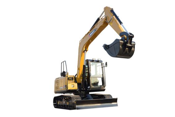 三一重工SY95C小型液压挖掘机高清图 - 外观