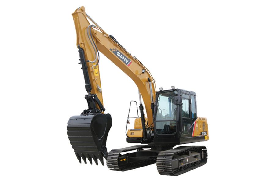 三一重工SY135C小型挖掘机