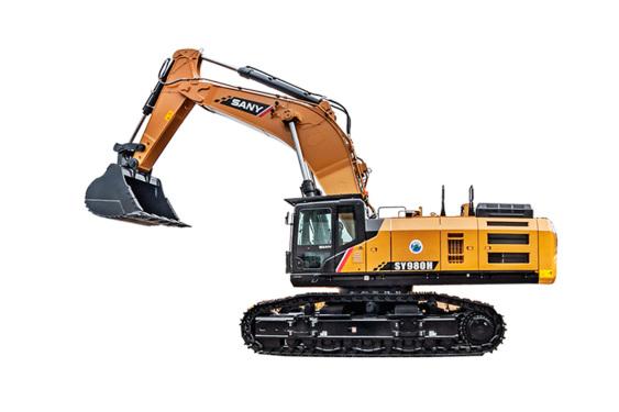 三一重工SY980H大型挖掘机
