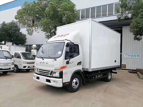 楚胜江淮骏铃4.2米冷藏车