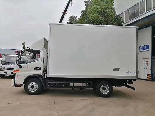 楚胜江淮骏铃4.2米冷藏车高清图 - 外观