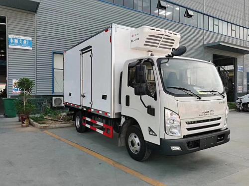 楚胜五十铃4.1米冷藏车高清图 - 外观