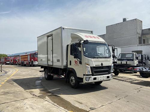 楚胜重汽豪沃4.2米冷藏车高清图 - 外观