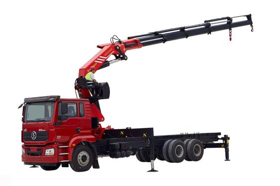 三一重工SPK5550253.9吨米折臂式随车起重机