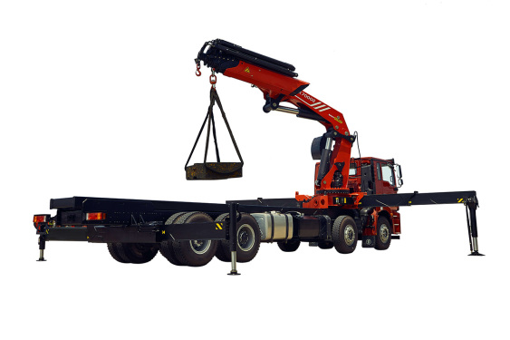三一重工SPK7000263.3吨米折臂式随车起重机