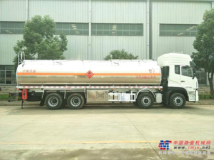 楚胜天龙前四后八铝合金26方油罐车高清图 - 外观
