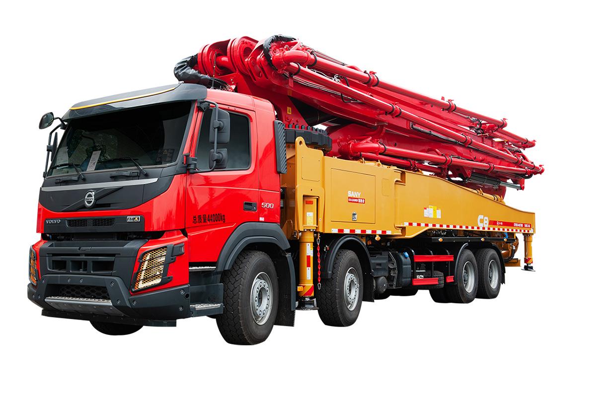 三一重工SYM5446THB 560C-8B泵车高清图 - 外观