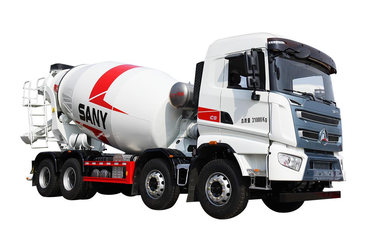 三一重工SY408C-10W( Ⅵ )混凝土搅拌运输车高清图 - 外观