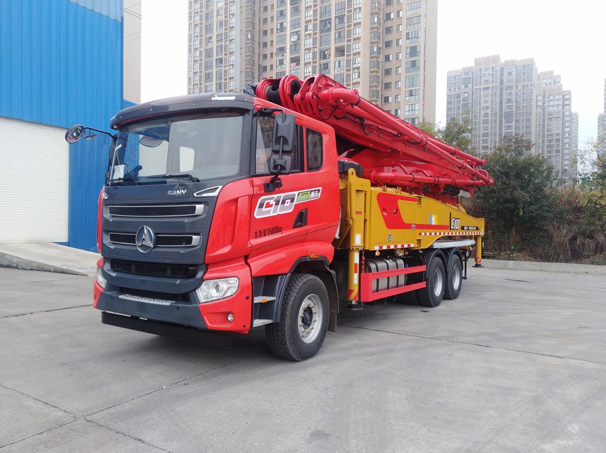三一重工SYM5351THB 520-C10泵车高清图 - 外观