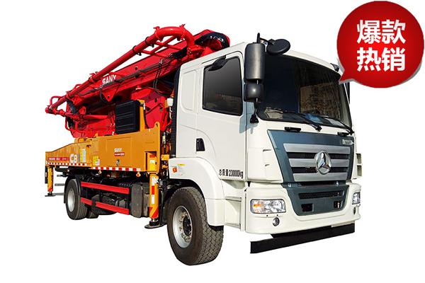 三一重工SYM5353THB 520-C10泵车高清图 - 外观