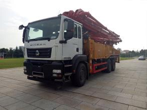 三一重工SYM5341THB 470C-8泵车高清图 - 外观