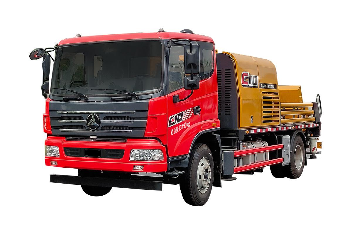 三一重工SY5143THBE -10023C-10S车载泵高清图 - 外观