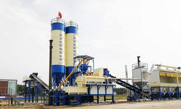 亚龙筑机JWBC800JWBC环保阶梯稳定土厂拌设备