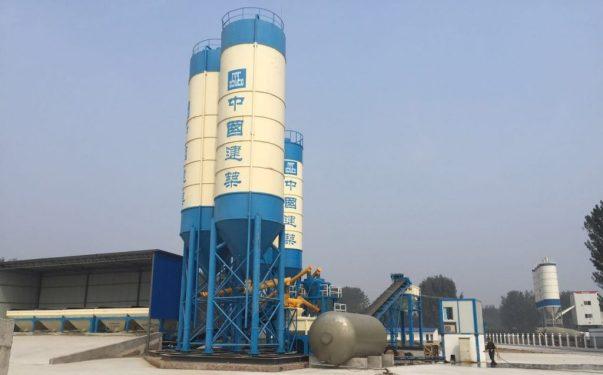 亚龙筑机WBC1000WBC环保稳定土厂拌设备 在