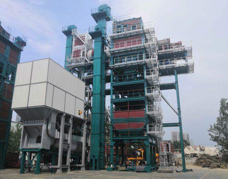 亚龙筑机NRAP150沥青混合料热再生设备