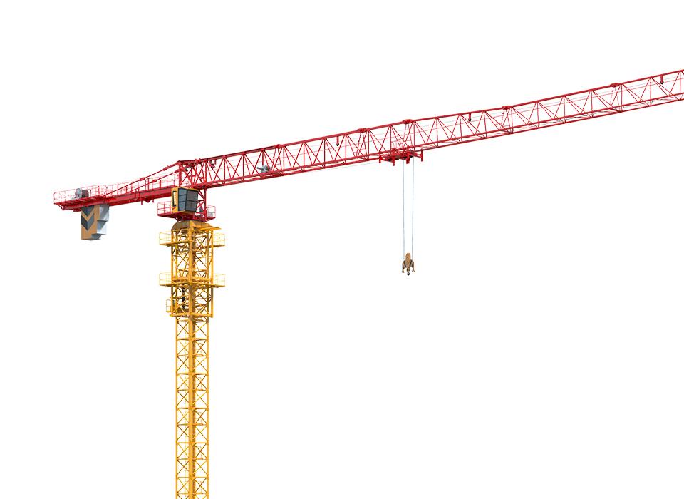 三一重工SFT250(T7021-12)平头塔式起重机高清图 - 外观