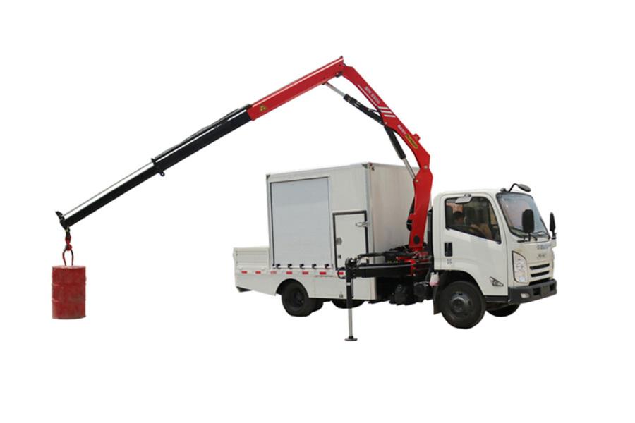 三一重工SPK65005.8吨米折臂式随车起重机