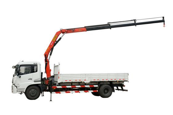 三一重工SPK100009.5吨米折臂式随车起重机
