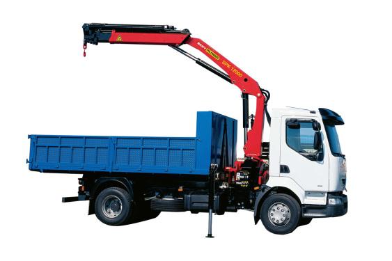 三一重工SPK1200011.6吨米折臂式随车起重机