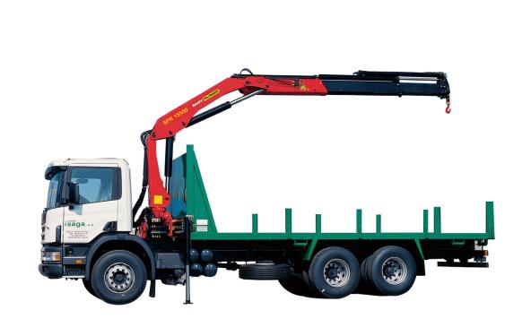 三一重工SPK1550014.6吨米折臂式随车起重机