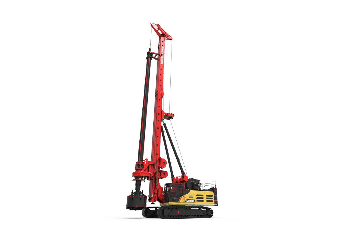 三一重工SR400R-W10旋挖钻机高清图 - 外观