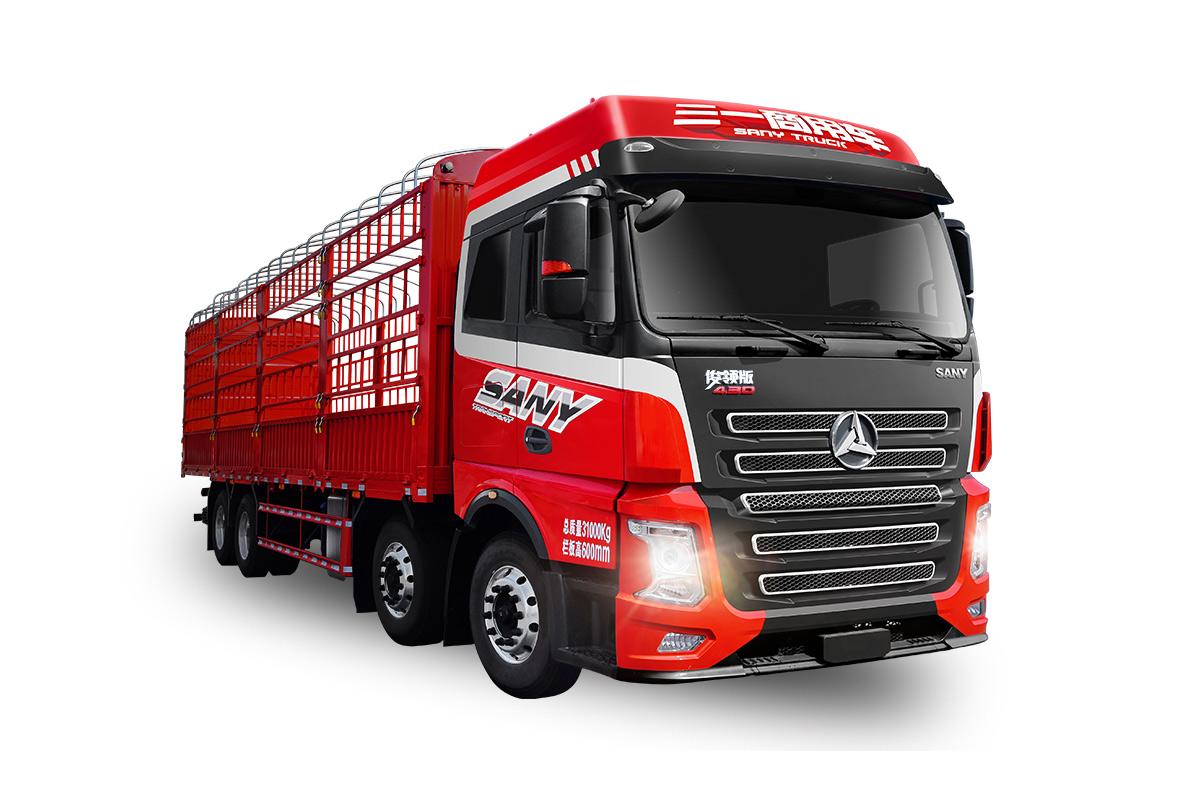 三一重工HQC1310L俊领版载货车高清图 - 外观