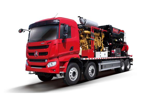 三一重工SYN5410TYL1860B2500型机械式压裂车