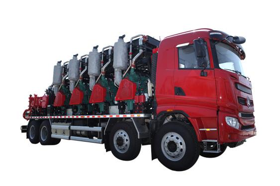 三一重工SYN5440TYL1860H2500型液压式压裂车