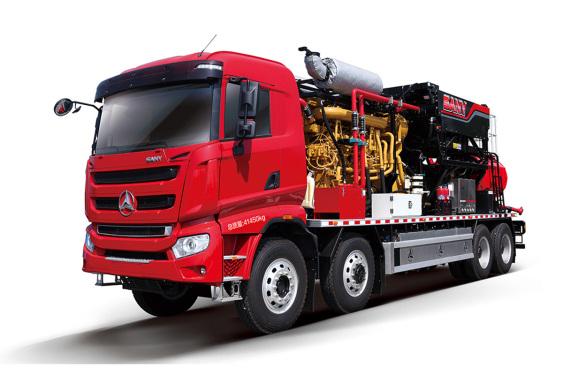 三一重工SYN5393TYL17002300型机械式压裂车