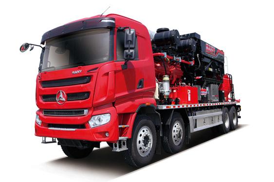 三一重工SYN5391TYL17002300型机械式压裂车