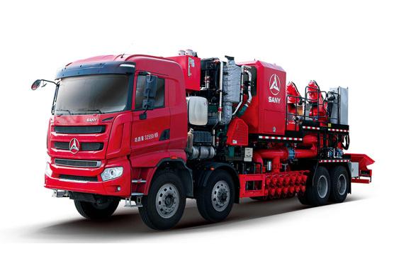 三一重工SYN5320THS100桶混砂车