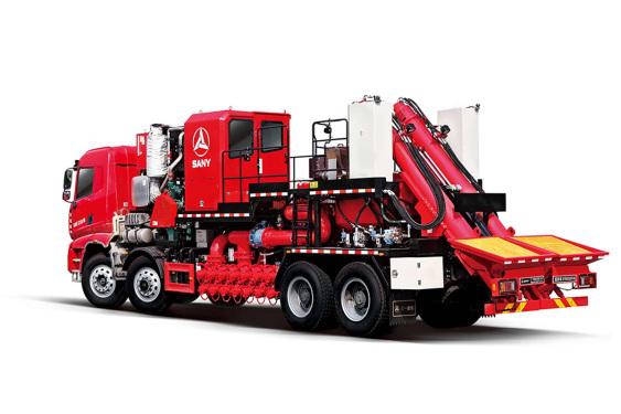 三一重工SYN5330THS130桶混砂车