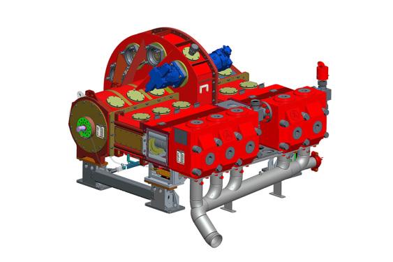 三一重工SY系列 液壓驅動壓裂泵