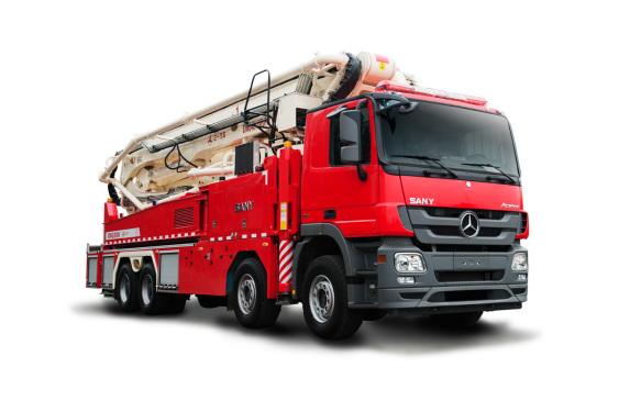 三一重工SYM5410JXFJP4848米舉高噴射消防車