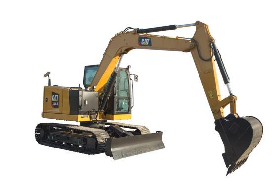 【720°全景展示】Cat?308.5迷你型挖掘機
