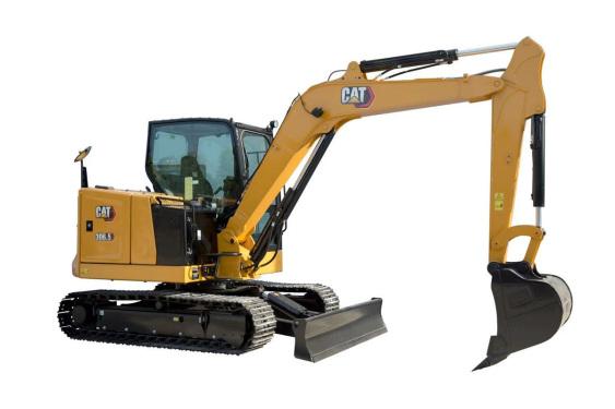 【720°全景展示】Cat?306.5迷你型挖掘機